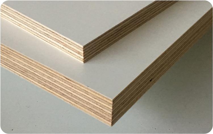 Contreplaqué Tout Bouleau Filmé Blanc Wood Ply